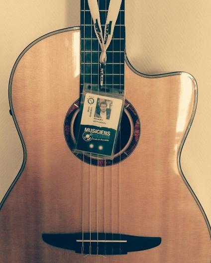 Guitare accréditée